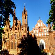 Wilno kościół św. Anny