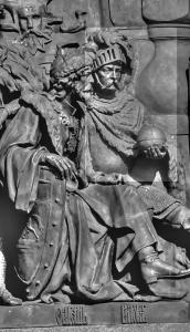 """Witold Wielki - pomnik """"1000-cie Rosji"""" w Wielkim Nowgorodzie"""