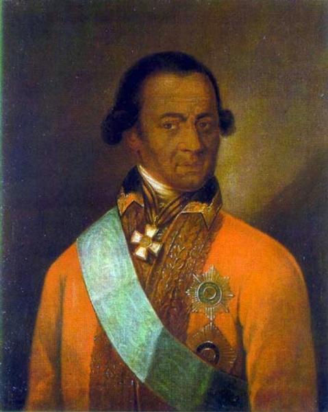 Przypuszczalny portret Abrama Hannibala