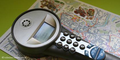 Przewodnik audio oraz mapa