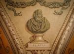 Wizerunek popiersia Platona w Bibliotece Uniwersytety Wileńskiego