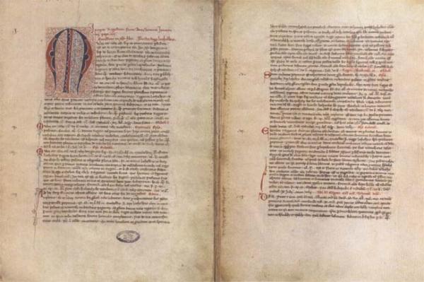 Bulla - koronacja Mendoga (lit. Mindaugas)