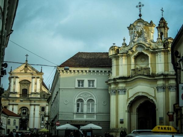 Wejście do podwórka z Celą Konrada i kościołem unickim