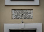 Tablica pamiątkowa - budynek w którym był więziony Adam Mickiewicz