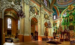 Cerkiew św. Ducha, wnętrze. ©Izabela Kamińska
