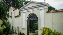 Cmentarz Bernardyński - wejście