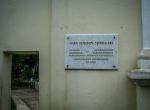 Cmentarz Bernardyński - płyta pamiątkowa