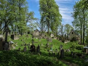 Nagórbki na cmentarzu Rossa w Wilnie