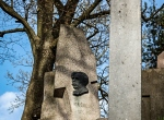 Cmentarz Rossa - nagrobek Mikalojusa Konstantinasa Čiurlionisa
