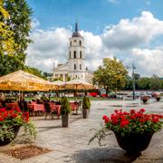 Skwer Odminiu w Wilnie