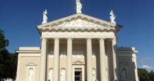 Fasada Katedry Wileńskiej