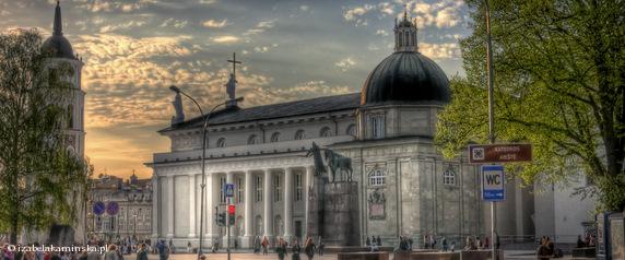 Katedra Wileńska - Widok z ulicy Zamkowej