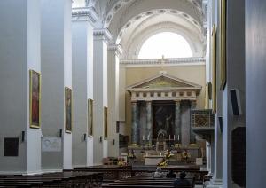 Wnętrze - katedra wileńska