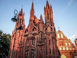 Fasada kościoła św. Anny. ©poznajwilno.pl