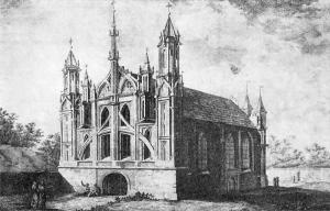 Wilno, Kościół św. Anny (XIXw.).