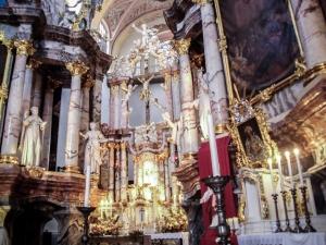 kościół św. Ducha w Wilnie - ołtarz