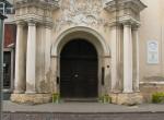 Kościół św. Ducha, Wilno - wejście do kościoła