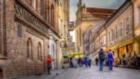 Ulica zamkowa - Wilno