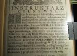 1733 rok - Instrukarz celny (Muzeum pieniądza)