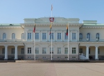 Pał'ac prezydencki w Wilnie - fasada
