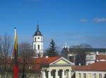 Pałac Prezydencki w Wilnie - widok z balkonu