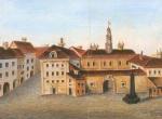 Stary Ratusz w Wilnie (autor: Rossi - 1763 r.)