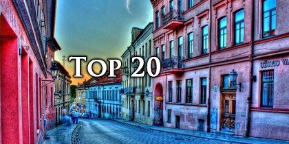 Warto Zwiedzić - Top 20