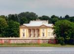 Pałac Tyszkiewiczów na jeziorze Galvė