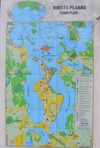 Troki - Plan miasta