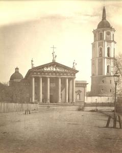 Ulica Giedymina - Katedra wileńska