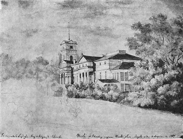 Pałac w Werkach (1877r.)