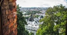 Wieża Giedymina - widok z okna - II