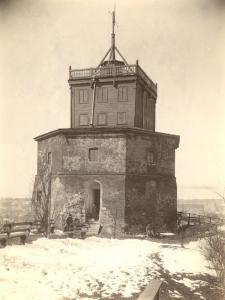 Wieża Giedymina 1906 r.