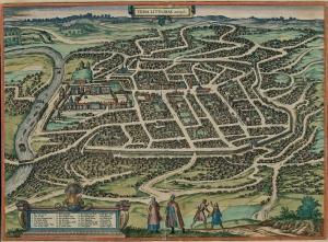 "1581, Braun and Hogenberg, ""Civitates orbis terrarum"""