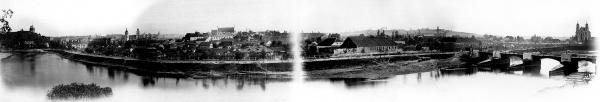 Panorama Wilna ułożona z 4 zdjęć, autor: Альберт Свейковский
