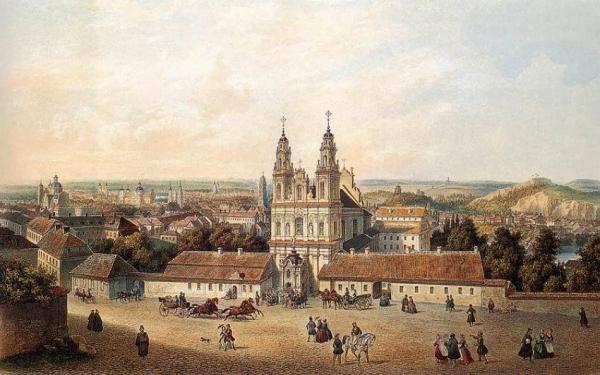 autor: Zygmunt Vogel - Wilno Kościół Misjonarzy
