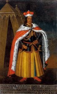 Portret Witolda Wielkiego z klasztoru augustianów w Brześciu