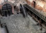 Wnętrze zamku - Troki