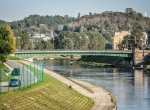 Rzeźba pod Zielonym mostem
